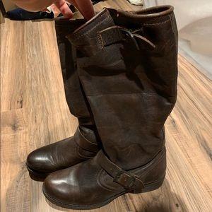 Women's Frye calf boots size 8.5